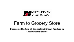 Farm to Grocery Store