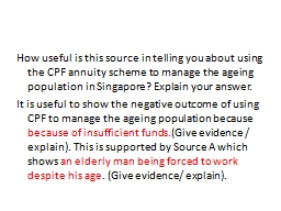 How useful is this source in telling you about using the CP