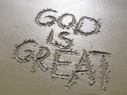 TITLE: God is Great.