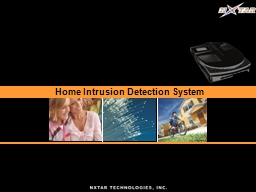 Home Intrusion Detection System
