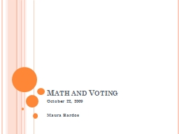 Math and Voting