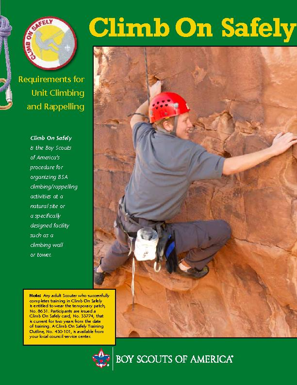 Cub Scouts and Webelos Scouts are encouraged to engage in climbing in PowerPoint PPT Presentation