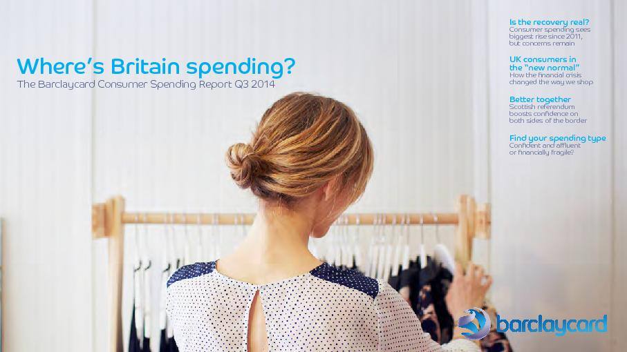 Is the recovery real?Consumer spending sees biggest rise since 2011, b