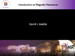 Introduction to Magnetic Resonance