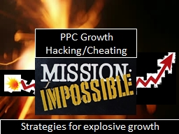 Strategies for explosive growth PowerPoint PPT Presentation