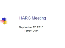 HARC Meeting