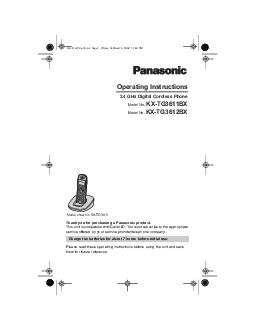 Thank you for purchasing a Panasonic product.This unit is compatible w