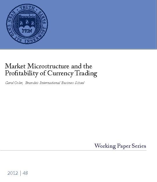 Market Microstructure and the Profitability of