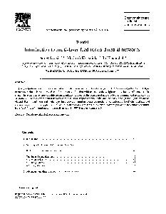 ELSEVIER Chemometrics and Intelligent Laboratory Systems    Chemometrics and intelligent laboratory systems Tutorial Introduction to multilayer feedforward neural networks Daniel Svozil a   Vladimir