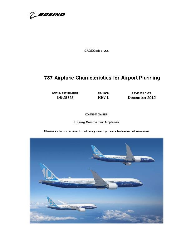 Cage code 81205airplane characteristics for airport - Planning and design of airports pdf ...