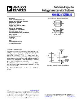 REV A Information furnished by Analog Devices is believed to be accurate and reliable