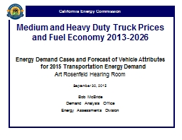 Medium and Heavy Duty Truck Prices and Fuel Economy 2013-20