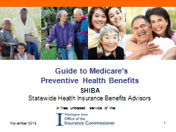 Guide to Medicare's