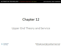 Chapter 12 PowerPoint PPT Presentation
