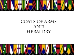 Coats of Arms PowerPoint PPT Presentation