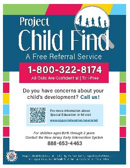 Project CHILD FIND Project CHILD FIND  oject CHILD FIND is a free referral service and public areness campaign to assist in the identification of unservedunderserved youth with a delay or disability
