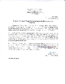 No VIlLlIlloI Government of India Ministry of External Affairs CPV Division New
