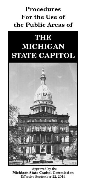 the Public Areas ofSTATE CAPITOL