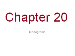 0 Chapter 20 PowerPoint PPT Presentation