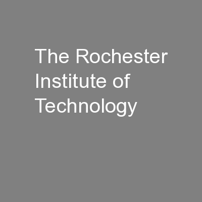 the Rochester Institute of Technology