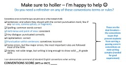 Make sure to holler – I'm happy to help PowerPoint PPT Presentation