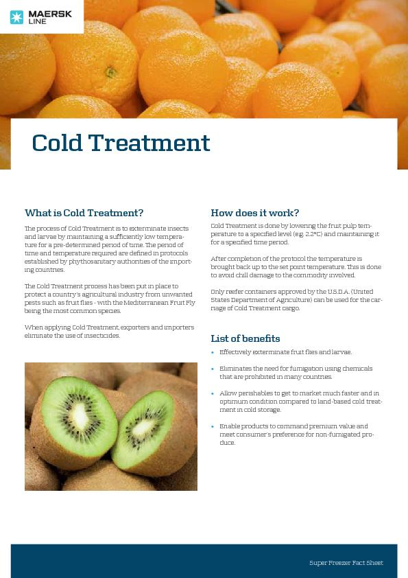 What is Cold Treatment?e process of Cold Treatment is to exterminate PowerPoint PPT Presentation