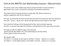 Visit at the IMATEC last Wednesday (