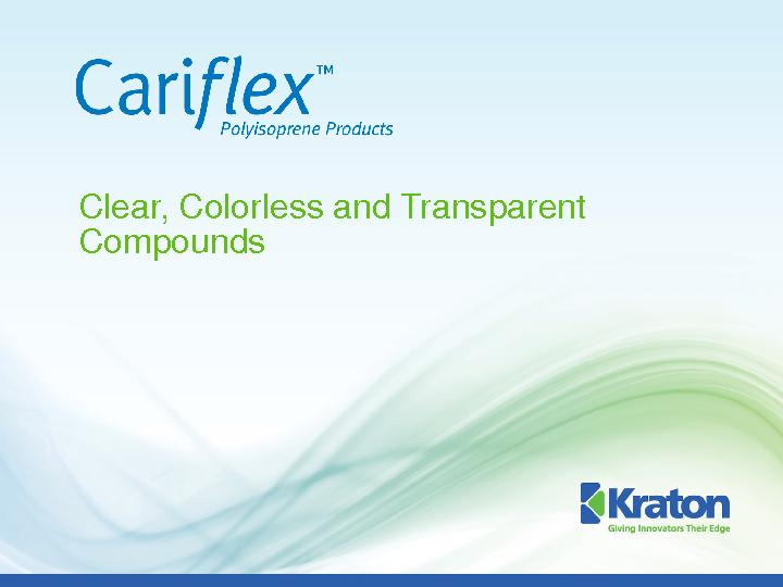 Clear, Colorless and Transparent Compounds PowerPoint PPT Presentation