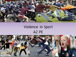 Violence PowerPoint PPT Presentation