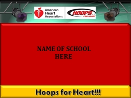 Hoops for Heart!!!
