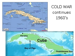 COLD WAR continues PowerPoint PPT Presentation