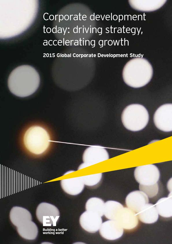 Corporate development today: driving strategy, accelerating growth ...