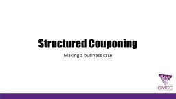 Structured Couponing