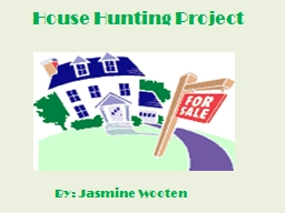 House Hunting Project
