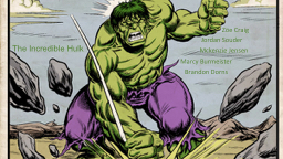 The Incredible Hulk PowerPoint PPT Presentation