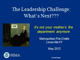 The Leadership Challenge: