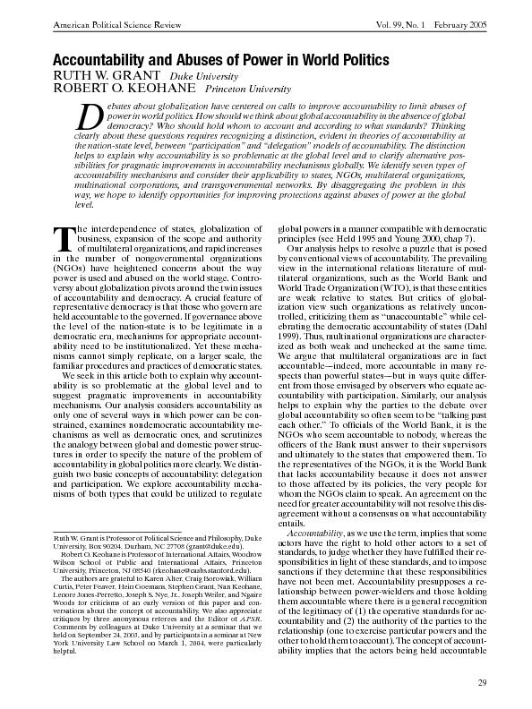 AmericanPoliticalScienceReviewVol.99,No.1February2005 PowerPoint PPT Presentation