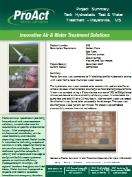 ProAct Services specializes in providing innovative air and