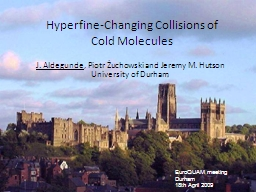 Hyperfine-Changing Collisions of Cold Molecules