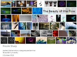 The Beauty of the Flow PowerPoint PPT Presentation