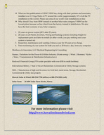 Turnkey Photovoltaic Systems Hawaii