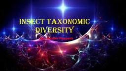 Insect Taxonomic diversity