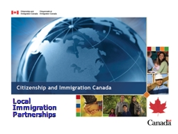 Local Immigration Partnerships PowerPoint PPT Presentation