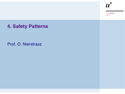 4. Safety Patterns PowerPoint PPT Presentation