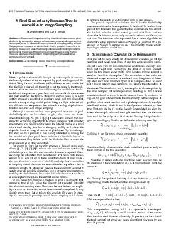 IEEE TRANSACTIONS ON PATTERN ANALYSIS AND MACHINE INTELLIGENCE VOL