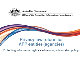Privacy law PowerPoint PPT Presentation