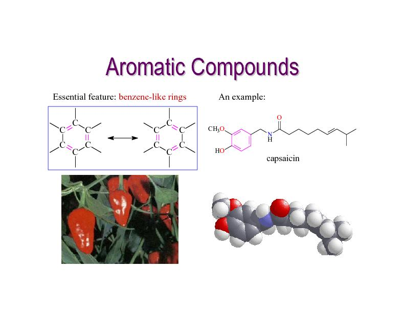 Aromatic Compounds PowerPoint PPT Presentation