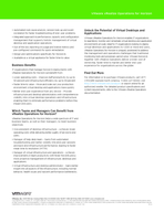 DATASHEET   DATASHEET VMware vRealize Operations for Horizon Business Challenges Organizations are turning to desktop and application virtualization to support end users with secure access to corpora