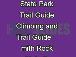 Smith Rock State Park Trail Guide Climbing and Trail Guide    mith Rock State Pa PDF document - DocSlides