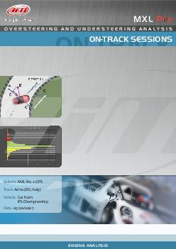 OVERST EERING AND UNDE RSTEER ING ANAL YSIS MXL Pro MXL Pro Adria RO Italy Track Vehicle Car from IPS Championship MXL Pro  GPS System OVERST EERING AND UNDE RSTEER ING ANAL YSIS ON TRA K SESSIONS EN
